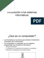 Tema 1 - Introducción a los sistemas informáticos