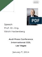 Prof. Dr. Ulrich Hackenberg, Audi Pressekonferenz, International CES, Las Vegas, 7.1.2014.pdf