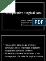 Postoperative Surgical Care