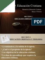 Educación Cristiana Sesión 3