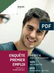 Enquête premier emploi 2013, ESILV école d'ingénieurs Paris-La Défense