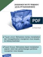 1. Sejarah Dan Perkembangan MMT