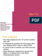 AN ANALYSIS OF THE MEDIA INDUSTRY IN INDIA WITH FOCUS ON STAR