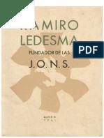 Ramiro Ledesma, fundador de las JONS