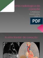 Anatomia radiologica do coração UFAL