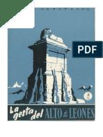 La gesta del Alto de los Leones