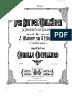 Wagner Chevillard Walkurenritt 2p8h Complete