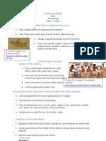 Crafts and Trade Presentation