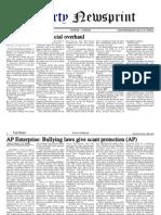 Libertynewsprint 9-14-09 Edition