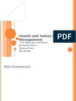 Health and Safety Risk Management _new