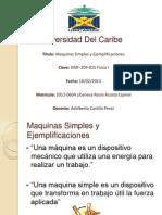 Maquinas Simples y Ejemplificaciones Mod