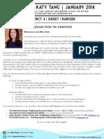 Supervisor Tang's January Newsletter (English)