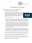 PVO Standards FAQ