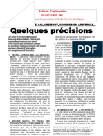 Bulletin Snj-cgt 10 Septembre 2009