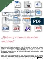 Extensiones de Los Archivos