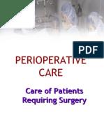 Perioperative Nsg Care Mgt