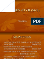 Is Codes for Civil Engineers