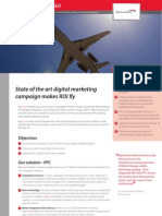 BA integrated search marketing case study