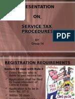 service Tax Procedure