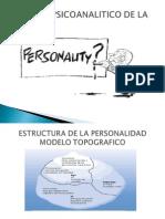 Teoria de La Personal Id Ad Enfoque Psicoanalitico 1