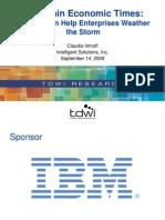 Enterprise Business Intelligence Slides 2009-09