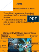 Analysiing DVD Covers