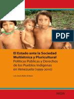 Bello Luis Estado Ante Sociedad Multietnica Pluricultural