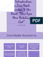 Zora Neale Hurson Intro