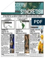 syncretic and new forms of religion developed