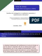 Modelos autoregresivos de media móvil ARMA(p,q)