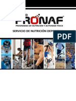 PRONAF Sport - Dossier