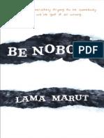 Be Nobody - Excerpt