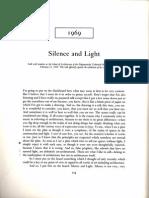 Louis I Kahn-Silence and Light