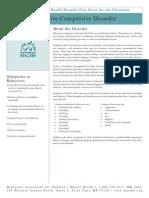 Childhood OCD Fact Sheet