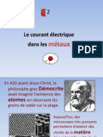 chapitre2-le courant électrique dans les métaux