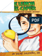 Lemon Tree Caper/La intriga del limonero by René Saldaña Jr.