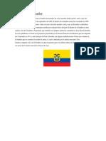 Bandera de Ecuador 3