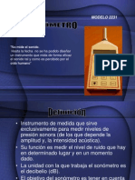 El Sonometro