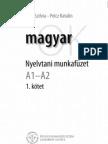 MagyarOK - nyelvtani munkafüzet A1-A2