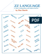 Dan Haerle.-the Jazz Language-A Theory Text for Jazz Composition and Improvisation.-studio Publications Recordings