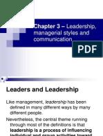 Curs 3 Leadership Power Communication