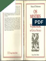 82440807 Os Mestres Da Verdade Na Grecia Arcaica