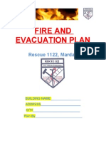 Fire and Evacuation Plan
