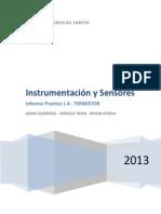 sensores termistor