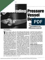 Overview of Decoding Pressure Vessel Design