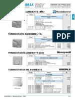 Control Regulacion Frio Tarifa PVP SalvadorEscoda
