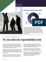 Por Una Cultura de Responsabilidad Social
