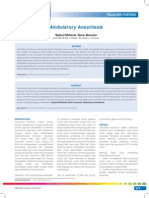 Ambulatory Anesthesia