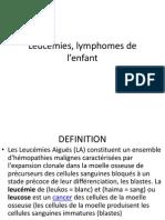Cours 5 - Leucémies