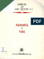 Quiles Ismael - Volumen 06 - Filosofia Y Vida (1983)